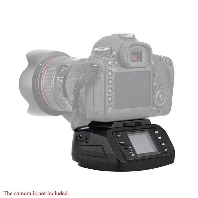 Tête de trépied automatique AD 10 tête panoramique caméra électronique 360 degrés têtes de trépied pour Canon/ Nikon/ Sony/Pentax caméra