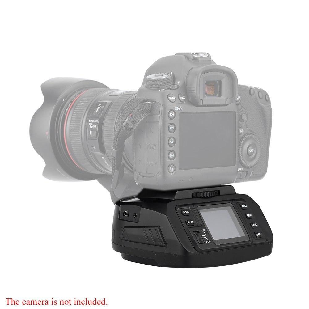 Автоматическая шаровая Головка штатива AD-10 панорамная головка электронная камера 360 градусов головки штатива для камеры Canon/ Nikon/ Sony/Pentax