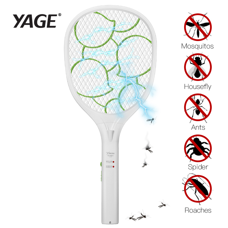 YAGE Elektrische Mosquito Swatter Mosquito Killers Pest Control Bug - Tuinbenodigdheden