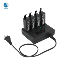 4 in 1 Battery Charger DJI OSMO Parallel Charger Intelligent Battery Charger for OSMO/ OSMO Mobile Handheld Gimbal Accesories