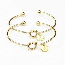 1 шт. кавайный браслет с золотыми буквами для девушки, подарок на день Святого Валентина, подарок подружки невесты, сувенир на свадьбу, вечерние подарки