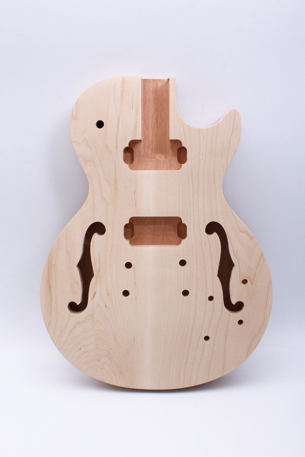 Yinfente LP Electric guitar body Unfinished Mahogany One-piece wood Made Bolt On high quality custom shop lp jazz hollow body electric guitar vibrato system rosewood fingerboard mahogany body guitar