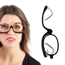 Women Cosmetic Glasses Making Up Reading Glasses Presbyopic Eyeglass +1.5~+4.0