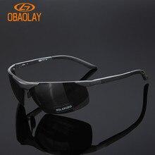 Polarized Men's Cycling Sunglasses Aluminum Magnesium Ourdoor Sports Driving Fishing Sun glasses Eyewear Bicycle Bike Goggles