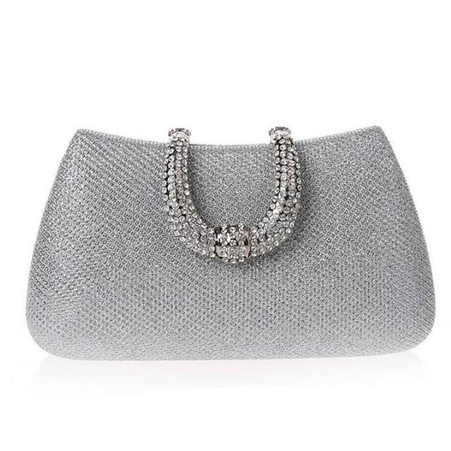2017 New Design Evening bags Party Bags Wedding Handbag Diamond Clutch Messenger Purse  Chain Shoulder Bag Bolsa Feminina Purse