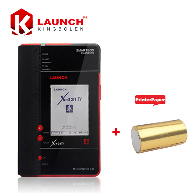Launch X431 GX4 IV Free Update Via Internet Original  Global Version X431 OBD Scanner IV Master +Extra Printer Paper