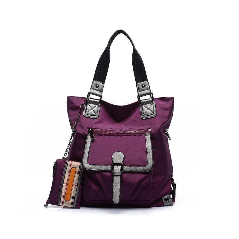 Nouveau sac à main en Nylon pour femme sac à bandoulière populaire Chic sac de voyage multifonction grande capacité