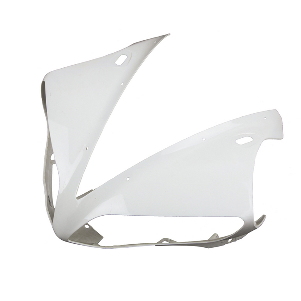 For Yamaha YZF R1 Upper Front Nose Fairing Cowl 2004 2005 2006 Motorbike Accessories Injection Mold ABS Plastic Unpainted WhiteFor Yamaha YZF R1 Upper Front Nose Fairing Cowl 2004 2005 2006 Motorbike Accessories Injection Mold ABS Plastic Unpainted White
