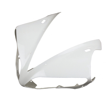 For Yamaha YZF R1 Upper Front Nose Fairing Cowl 2004 2005 2006 Motorbike Accessories Injection Mold ABS Plastic Unpainted White