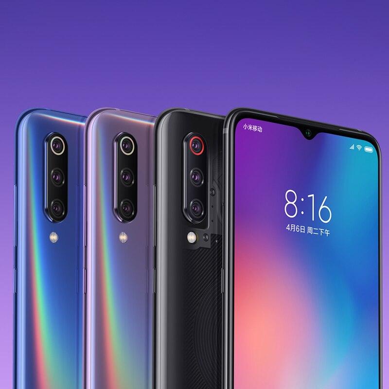 Global Version Xiaomi Mi 9 Mi9 Smartphone 6GB 64GB Snapdragon 855 Octa Core 6.39″ 48MP Triple Camera Wireless Charge NFC QC 4.0