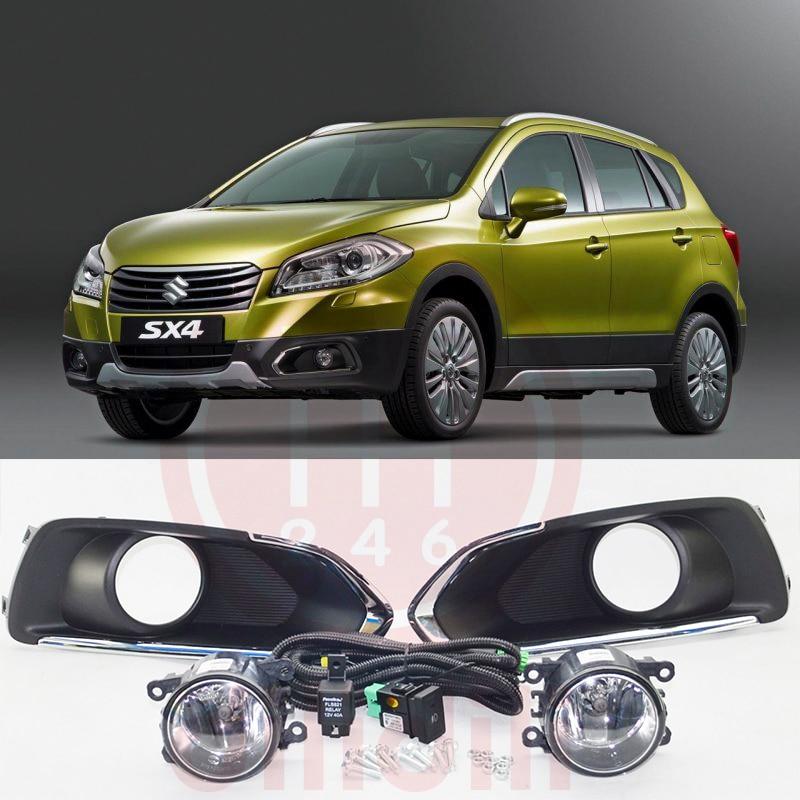 Kit lampu kabut lampu OEM untuk Suzuki SX4 S-Cross 2013-2016