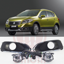цена на New OEM Fog Lamp light Kit Fit  Suzuki SX4 S-Cross 2013-2016