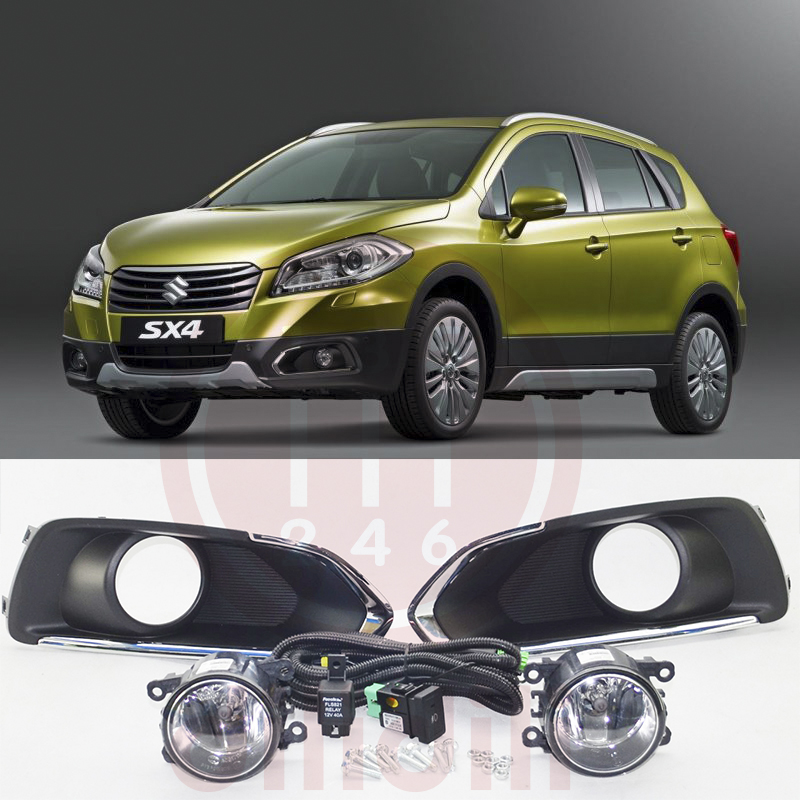 OEM Fog Lamp light Kit for Suzuki SX4 S Cross 2013 2016