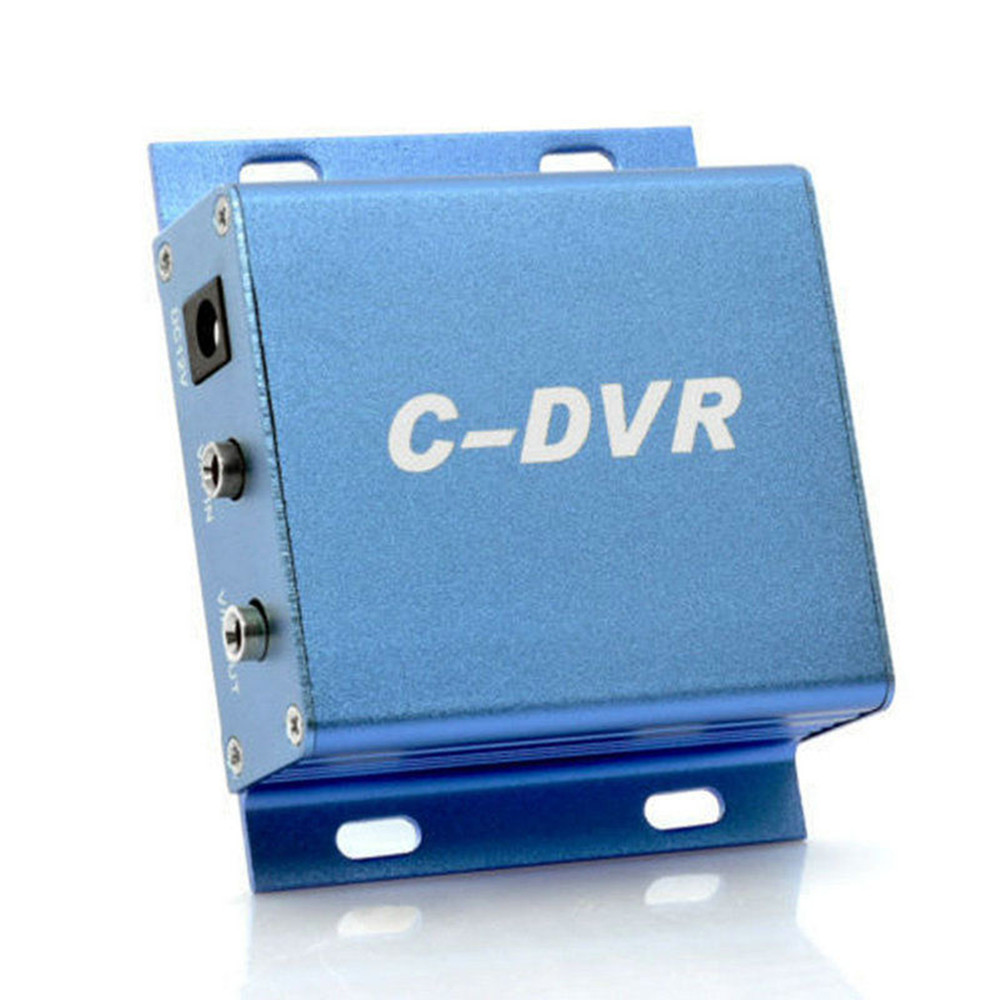 1Channel Mini C-DVR Aluminum alloy Video Audio Recorder Motion Detection TF Card Plug&Play Security CCTV Digital Video Recorder super mini ahd 2 in 1 dvr recorder for recording pixel 1 3mp mini ahd cam 1ch audio support tf card 256gb motion detection cctv