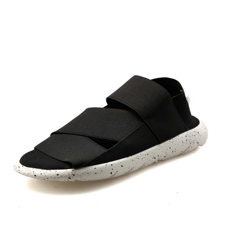 aba10c9a23a45 Y3 Sandals KAOHE SANDALS Outdoor Shoes Men Slippers Open-toed Leather Beach  sandals Men Sandals