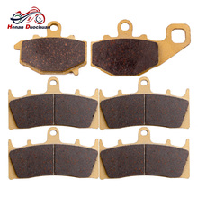 For KAWASAKI ZX-6R  ZX6R  ZX-9R Front Rear Brake Pads Disc 1994-2013 Motorcycle Accessories