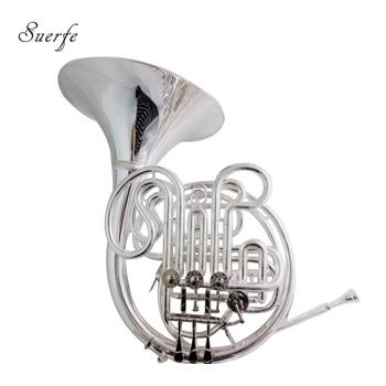 Alexander 103 F/Bb trompa instrumentos musicales corno francés doble trompa plateado con caja boquilla