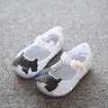 Мини Сэд Девочек Сандалии 2017 детские Случайные shoes Сандалии 3 Цвета Ребенок детские Сандалии Мультфильм Принцесса Shoes Jelly Shoes