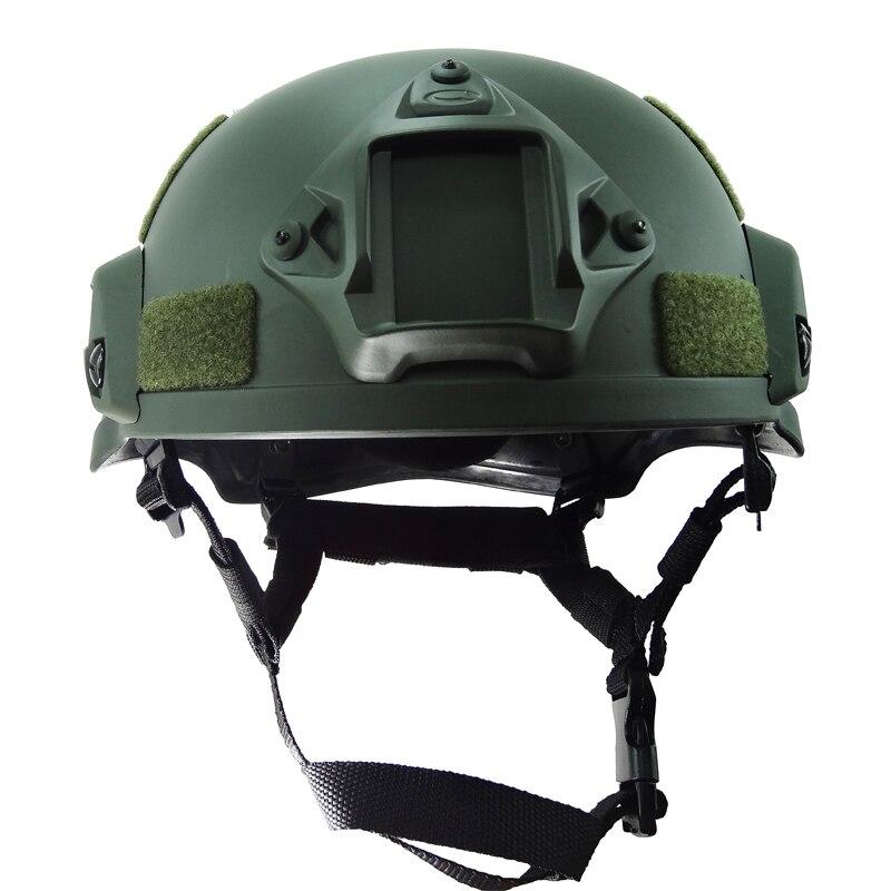 Airsoft peyntbol avadanlığı Hərbi Dəbilqə Taktik Ordusu - İdman geyimləri və aksesuarları - Fotoqrafiya 1