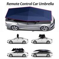 Автоматический тент палатка крышка автомобиля Открытый водостойкий складной автомобиль навес крышка портативный солнцезащитный Укрытие