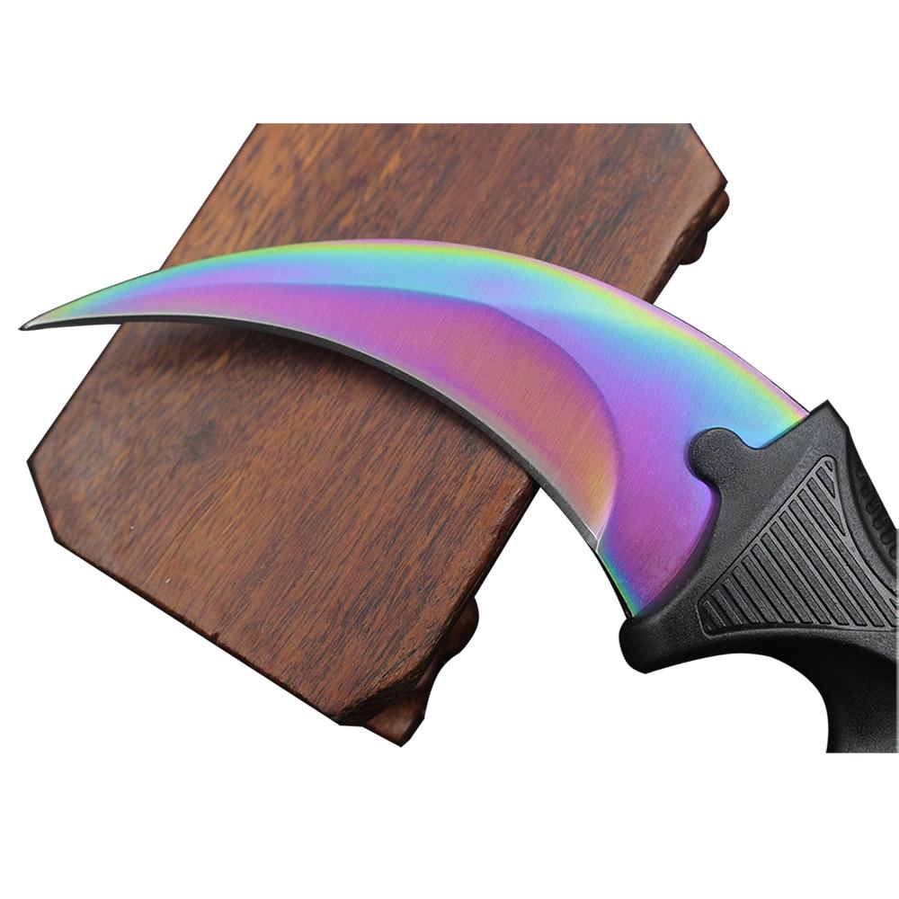 CS GO nůž pult úder jestřáb taktický dráp karambit krk nůž - Ruční nářadí - Fotografie 3