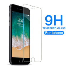 9H Tempered Glass 2.5D Scratchproof Phone Screen Protector For Phone 6/6S/7/8/7Plus/8Plus/XR/XS MAX Protective Glass on Phone X