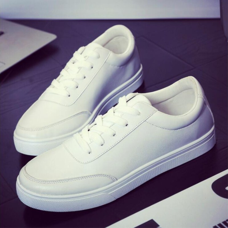 Autumn and winter new men's casual shoes British trend plus cotton wool shoes fashion wild warm students white shoes 2017 new autumn winter british retro men shoes zipper leather breathable sneaker fashion boots men casual shoes handmade