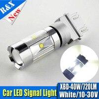 1piece 40W 3156 3157 Car Tail Brake Turn Light Projector High Power 360 Degree Beam Angle