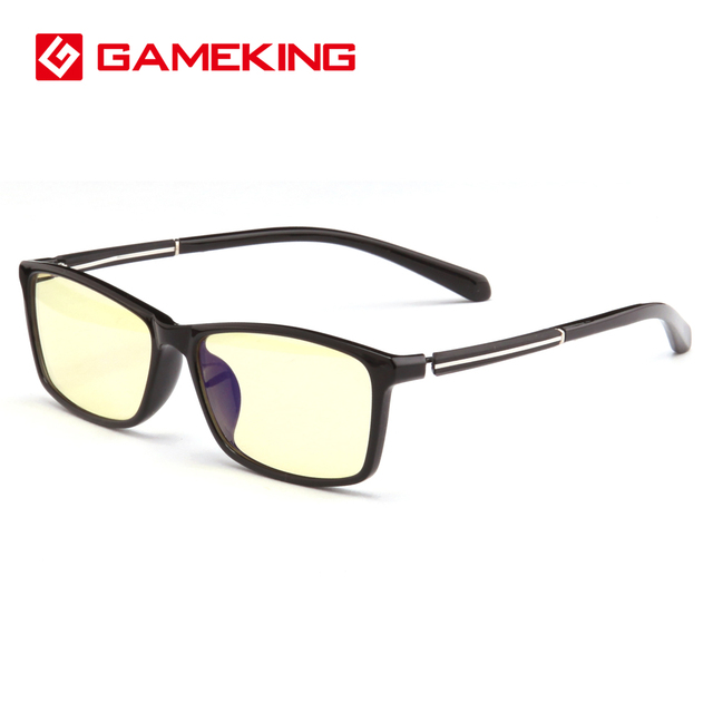 a1bc31a9dd7bd GameKing Bloqueando a Luz Azul Computador Óculos Anti Blue Ray Jogos Óculos  com Lente Âmbar Tint