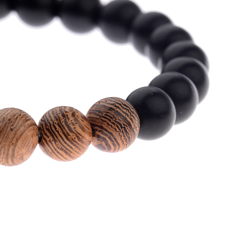 8mm New Natural Wood Beads Bracelets Men Black Ethinc Meditation White Bracelet Women Prayer Jewelry Yoga Bracelet Homme HTB1MjDSbtbJ8KJjy1zjq6yqapXaF