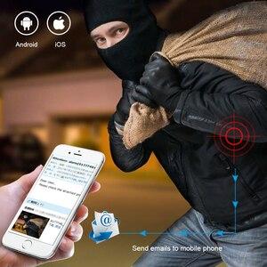 """Image 5 - Techage 8CH 1080 1080P 2MP 12 """"液晶モニターワイヤレス Nvr Wifi オーディオ IP カメラシステムビデオ監視防水 CCTV セキュリティキット"""
