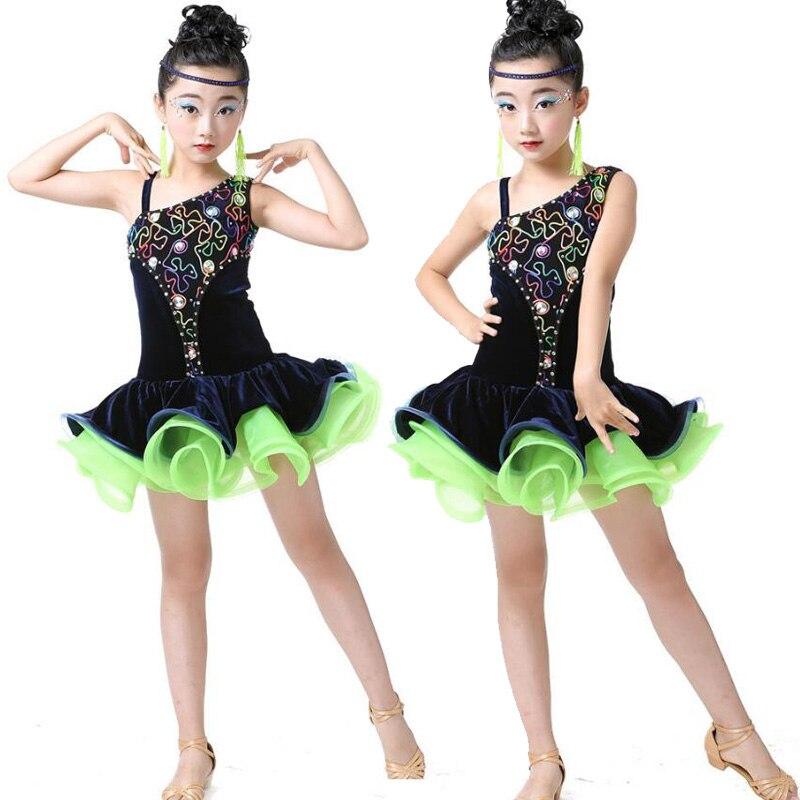 buy sequin girls ballroom latin dance. Black Bedroom Furniture Sets. Home Design Ideas