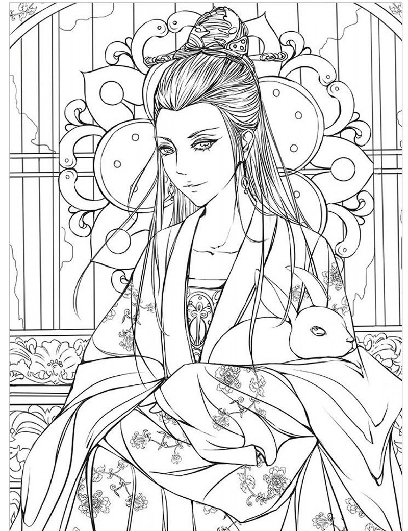 2016 NEW HOT Fashion drawing books Beautiful antiquity coloring book ...