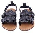garden shoes summer sandals kids sandals baby boys summer 2016 moda praia infantil menina Leather Soft Anti Slip Prewalker Shoes