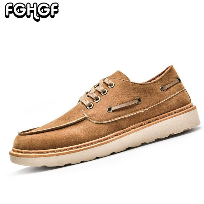 2018 New Men's Oxford Shoes Fashion Comfort Lace up Flats Quality Breathable Work shoes Men casual leather Driving shoes Y211 samool men s leather oxford shoes casual shoes for men round toe flats shoes lace up driving shoes khaki leather casual shoes