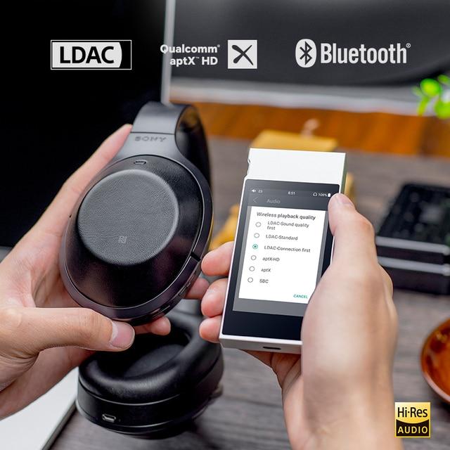 FiiO Metal Case M7 Bluetooth 4.2 aptX-HD LDAC Hi-Res Touch Screen LCD Mini Music MP3 play with FM Radio(Black/Red/Blue/Silver) 2