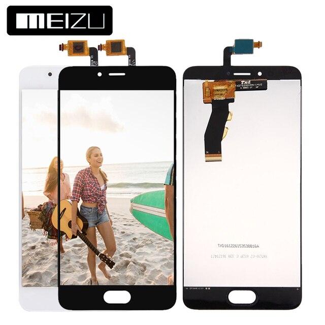 100% тестирование 5.2 дюймов 1280x720 для Meizu m5s meilan 5S ЖК-дисплей Дисплей Сенсорный экран планшета Ассамблеи Запчасти для авто m612h m612m