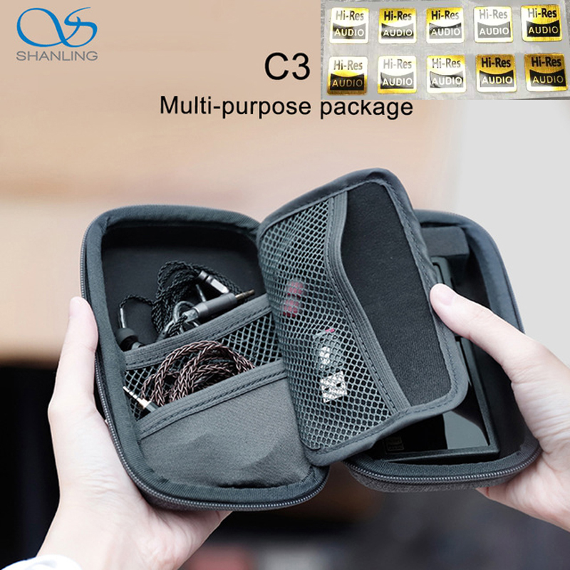 SHANLING C3 Storage Box for Portable Players M0 M1 M3S M5S FIIO M5 M6 M9 M7 M3K M11 M15 M11 Pro Multi purpose PackageMP3 Players & Amplifier Accessories   -