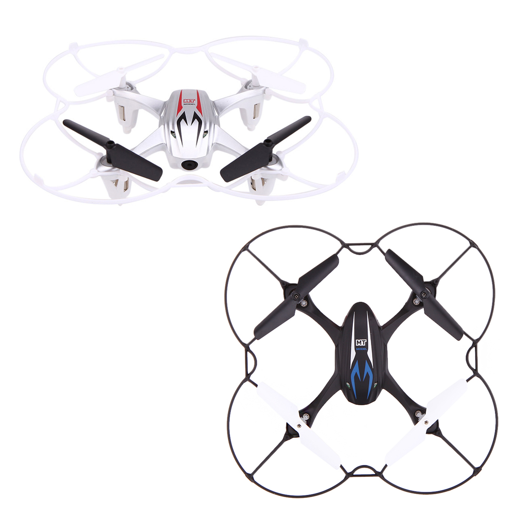 MT99 2.4G 4CH 6 Axis RTF RC Quadcopter mini Drone with 0.3MP Camera Brush Motor Over 50 Meter Remote Control Quadcopter FCI#