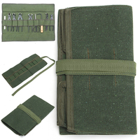 600x430mm Canvas Tool Bag Hand Tool Storage Roll Bag Pouch Holder Pack For Repairing Tool Army