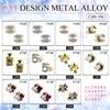 10pcs /lot Nail Art 3D Metal Alloy Bling Rhinestone Crystal Decoration NEW