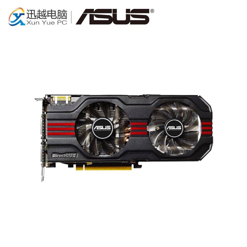 цена на ASUS ENGTX560 Ti DCII/2DI/1GD5 Original Graphics Cards 256 Bit GTX 560 Ti GDDR5 Video Card DVI Mini HDMI For Nvidia GTX560 Ti