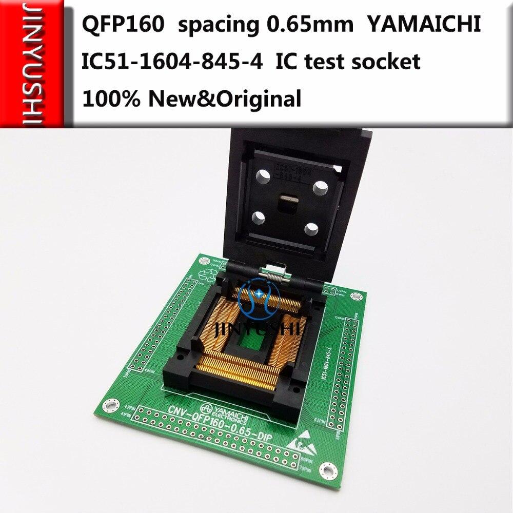 クラムシェル QFP160 間隔 0.65 ミリメートル IC51 1604 845 4 山一電機 Ic 燃焼座席アダプタのテスト席テストソケットテストベンチ  グループ上の パソコン & オフィス からの ネットワークツール の中 1