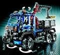 805 unids technic exploiture grúa del carro del camino modelo educativo diy juguetes de los ladrillos diy ladrillos compatible con lego