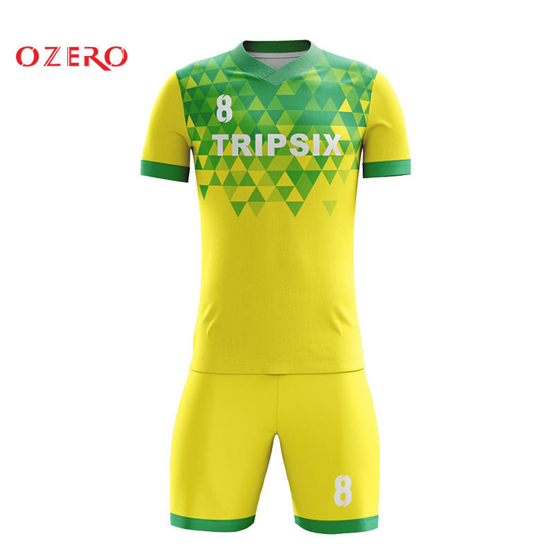New Pattern Design Custom Your Team Soccer Jersey Sublimation Soccer