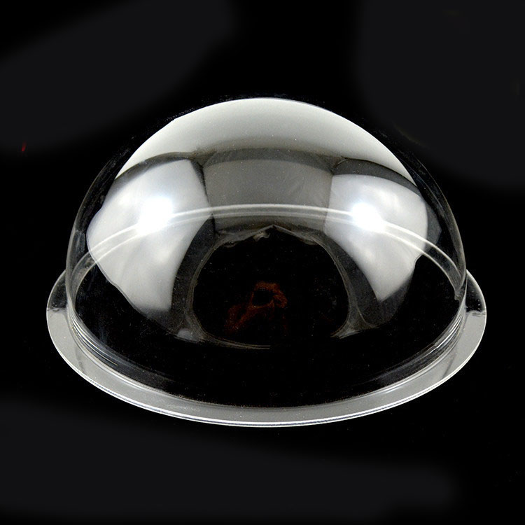 150mm Diameter acrylic dome clear with 1cm flange width no holes jewelry display half ball dust-proof sst 50 smooth aluminum reflector 5 1cm diameter