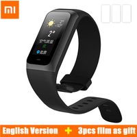 [ English Version ] Xiaomi Huami Amazfit Cor 2 Smartband 5ATM Waterproof IPS Color Screen Music control Fitness tracker Bracelet