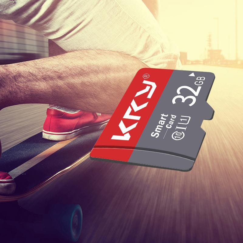 כיריים שניי להבות KRY כרטיס זיכרון 32GB 16GB 8GB 128GB 64GB microSD Card C10 מיקרו TF כרטיס SD 8 16 32 64 128 GB Cartao דה Memoria Carte מתאם (5)
