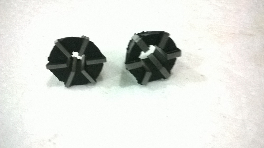 Free shipping 2PCS Rubber Flex collets for Reversible tapping chuck type J4612 1 J4612 2