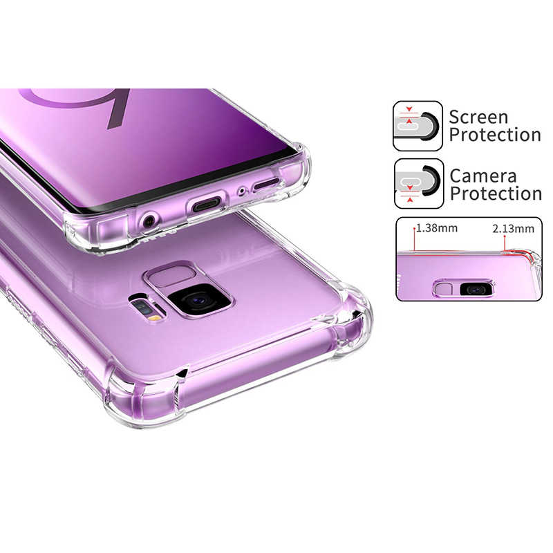 سيليكون الهاتف حقيبة لهاتف سامسونج غالاكسي S8 s9 plus S6 S7 حافة J5 J7 رئيس J1 J2 J3 A3 A5 A7 سلسلة ملاحظة 3 4 5 C5 C7 C9 برو غطاء